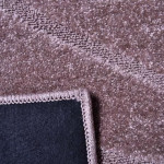 TAPETE REALCE FALESIA COR 35 TAUPE 1,5 X 2,00
