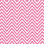 Papel Contact Premium - Chevron Pink - Rolo 6m