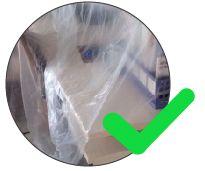 plástico transparente pvc para revestir móveis