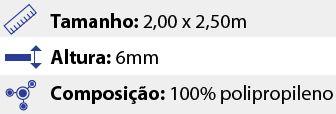 Tapete Geométrico Verona - Taupe - 2,00 x 2,50m