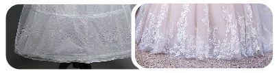 tecido morim para saiote de noiva