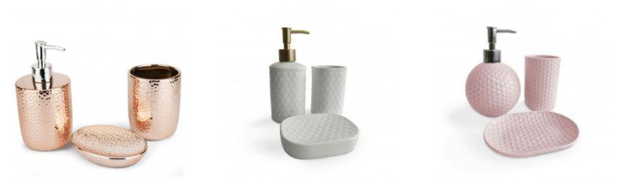 kit 3 peças para banheiro
