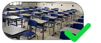 piso tátil para escolas e universidades