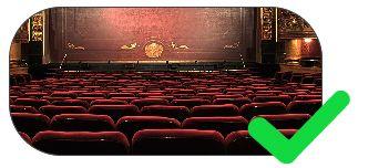 piso tátil para teatros