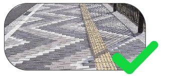 piso tátil para calçadas e concreto