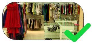 piso tátil para lojas em geral