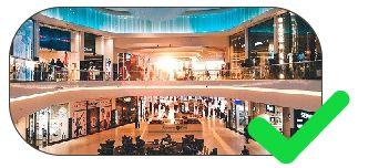 piso tátil para shoppings